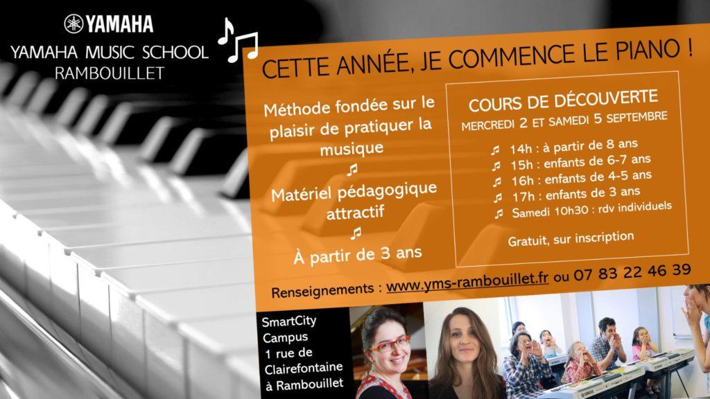 Cours de piano à Rambouillet