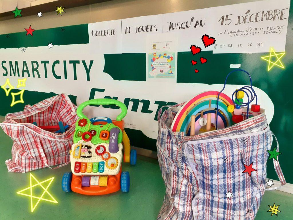 collecte de jouets pour les Restos du Coeur